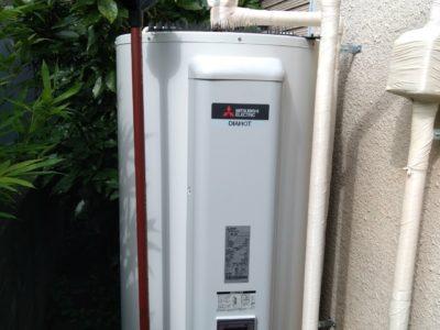 電気温水器交換工事<三菱 SRG-375E>東京都江東区