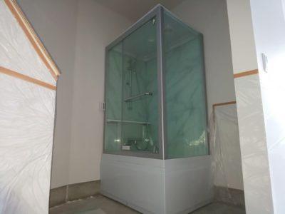 シャワーユニット組立工事 (MKクリエーション MK-209) 神奈川県大磯