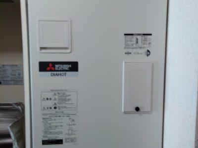 電気温水器交換工事 (三菱 SRG-201E-R) 東京都豊島区
