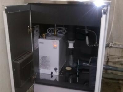 ミニキッチン・小型電気温水器交換工事<M2-60DS EHPN-F12N1> 東京都品川区