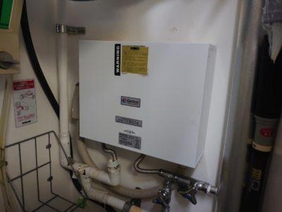 電子瞬間湯沸かし器交換工事<日本建装工業 TH-EX1800T>東京都江東区