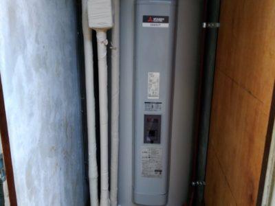電気温水器交換工事 (三菱 SRG-375E) 栃木県宇都宮市
