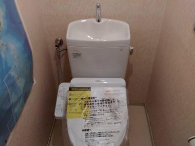 トイレ交換工事 <TOTO CS230BM+SH233BA>  東京都品川区