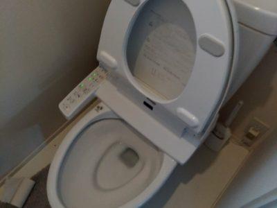 シャワートイレ交換工事 <LIXIL CW-KB21>東京都目黒区