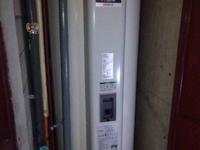 電気温水器設置工事 <三菱  SRG-375GM> 東京都三鷹市