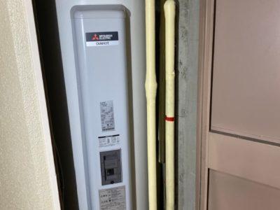 電気温水器交換工事 <三菱 SRG-375G> 東京都練馬区