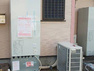 エコキュート交換工事 <コロナ CHP-37AY3> 千葉県流山市