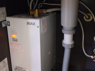 小型電気温水器交換工事 LIXIL EHPN-F6N4 東京都台東区