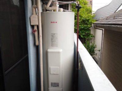 電気温水器交換工事 (四変テック SN4-3713)東京都杉並区