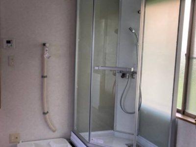 シャワーユニット新設工事 MKクリエーション MK-050SB 千葉県