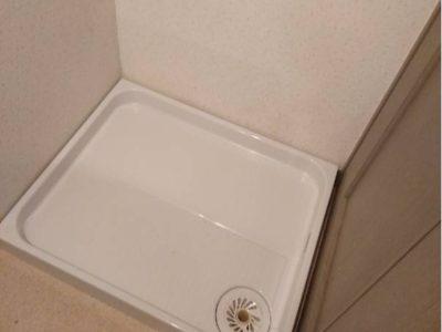 洗濯パン交換工事<TOTO PWP800RB2W>埼玉県さいたま市